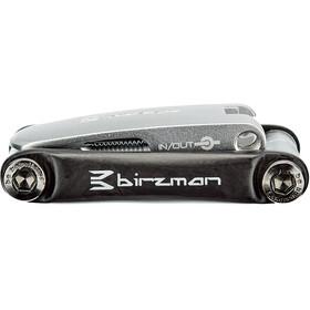 Birzman Feexman Cicada Multi Herramienta 10 funciones, black/silver